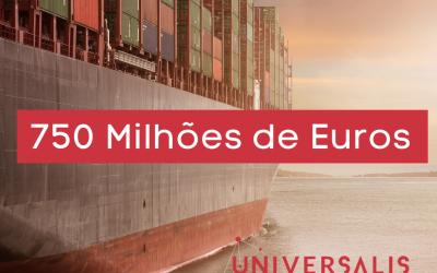 750 Milhões de Euros